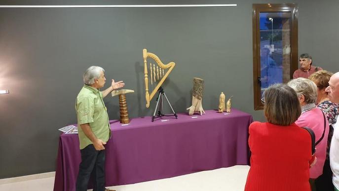 El MAU d'Almacelles estrena una exposició de Pere Albejano