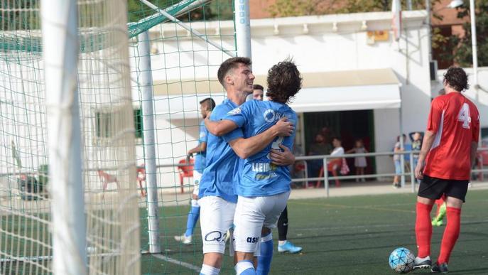 El Lleida B demostra el seu gran poder