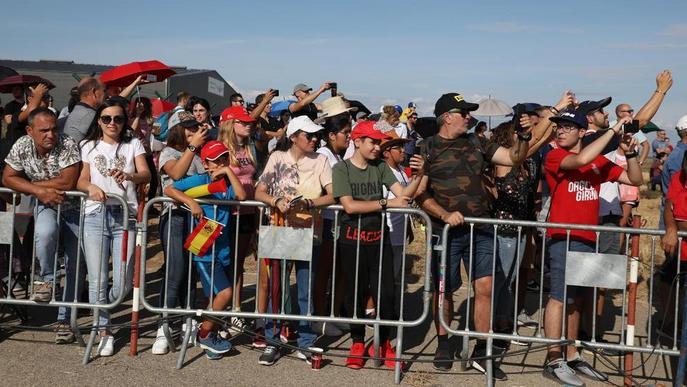 La Festa al Cel d'Alguaire resisteix la pluja i supera totes les expectatives d'assistents