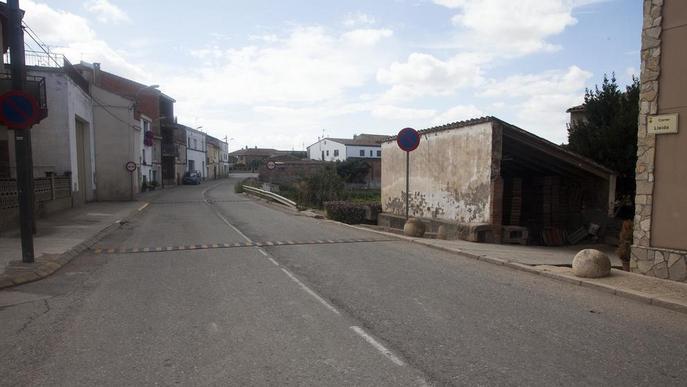 Anglesola renovarà les voreres i les canonades del carrer Lleida