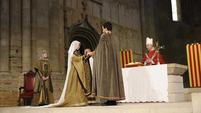 Casament reial a la Seu Vella