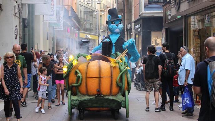 Nit de foc i diables a Lleida
