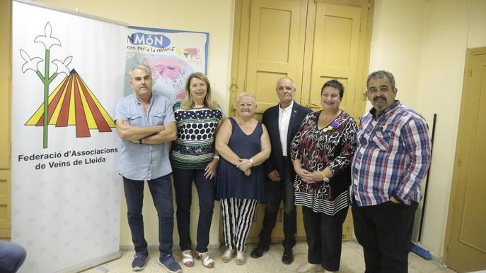 Baró, reelegit president veïnal al capdavant de l'única candidatura