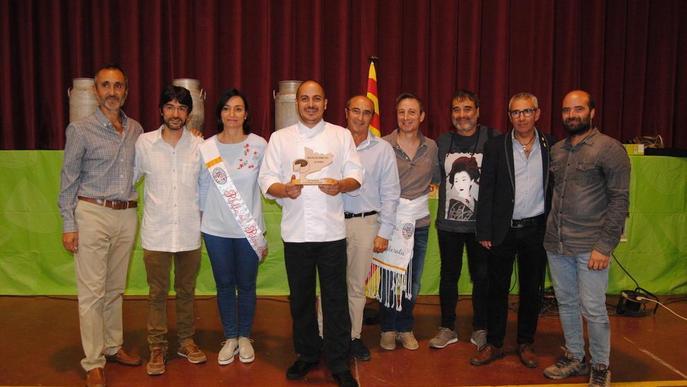 Premi al xef Joël Castanyé al Palau