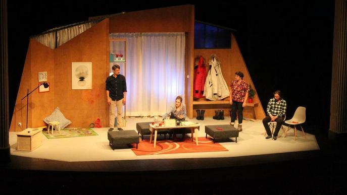 La comèdia 'Lapònia' obre el curs teatral de Tàrrega