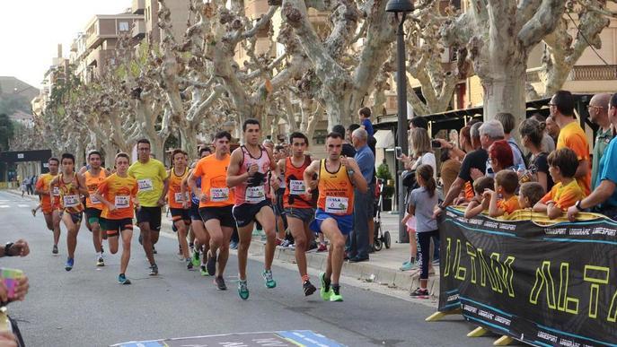 La novena Milla Urbana de Balaguer reuneix prop de dos-cents atletes