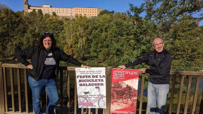 Doble cita ciclista, el cap de setmana a Balaguer