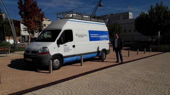 Una estació mòbil mesurarà la contaminació de l'aire a Juneda