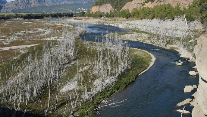 Lleida passa de la sequera a alleujar el pantà d'Oliana per evitar riuades per fortes pluges