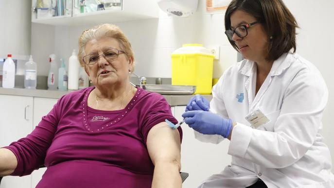 Salut aconsella per primer cop vacunar de la grip nadons nascuts prematurs
