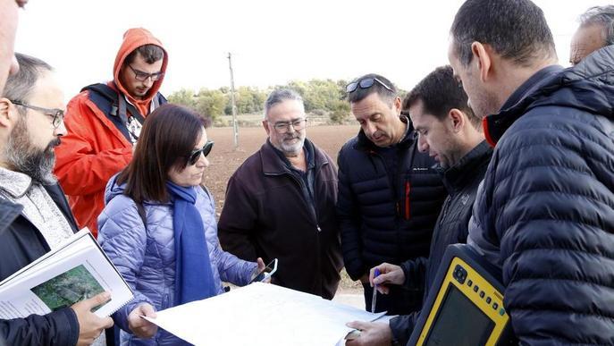 Territori inicia la delimitació dels municipis de Llobera i Torà