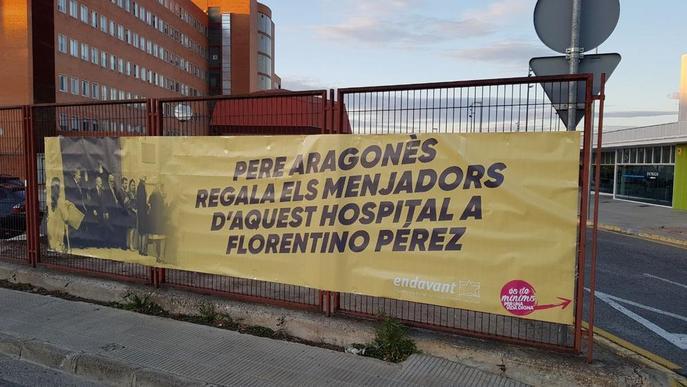 Endavant denuncia la privatització de serveis públics