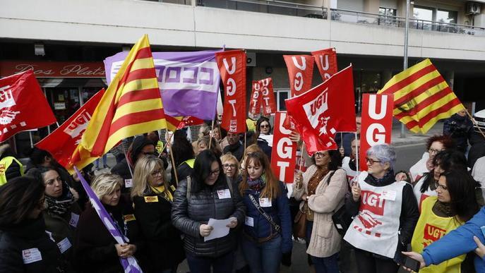 Atento ha retallat en 50 persones la plantilla d'empleats a Lleida
