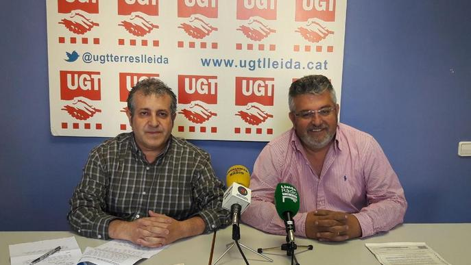 UGT presenta deu denúncies durant la campanya agrària