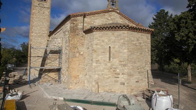 Un fresc decorarà el cor de l'ermita de Sant Eloi