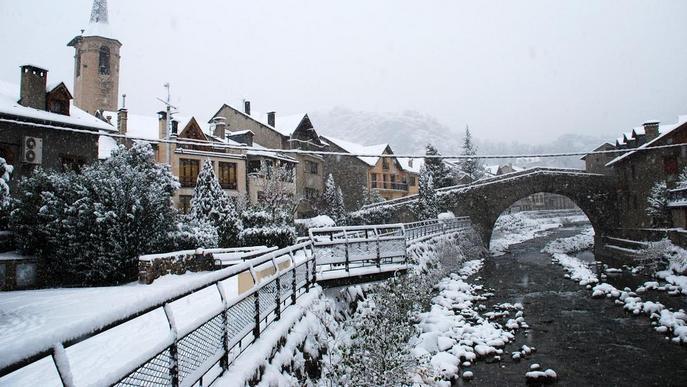 """Esterri ven arbres i llums nadalencs per """"unificar la decoració"""" del poble"""