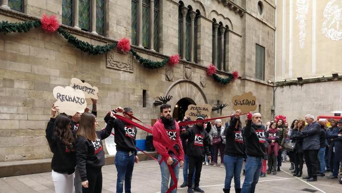 Lleida, contra l'estigma del VIH