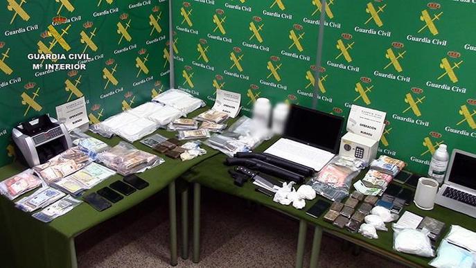 Confisquen més de 14 kg de cocaïna
