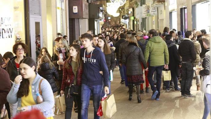 #Nadal2019: Balanç positiu en el primer festiu comercial per Nadal
