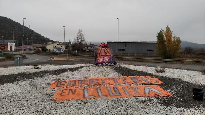 Territori denunciarà pintades de protesta en carreteres de Lleida