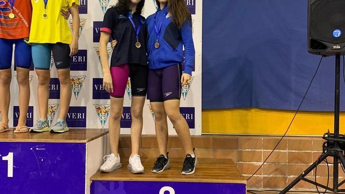 Lleida acaba amb 26 medalles el Català de natació