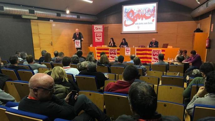 La UGT de Lleida acorda celebrar al maig l'XI Congrés provincial