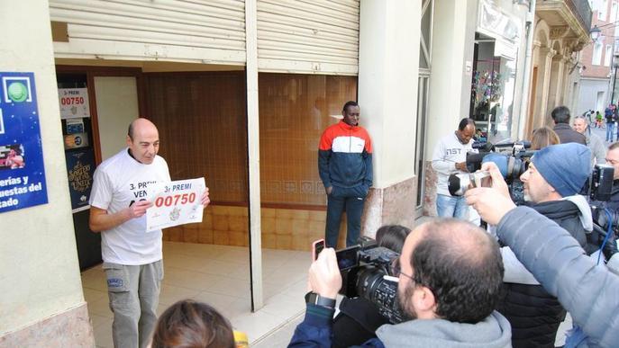 Un veí de Mollerussa guanya 18 M€ del tercer premi per un pressentiment