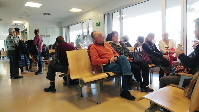 Alta pressió assistencial a Urgències de l'Arnau sense que hagi arribat la grip