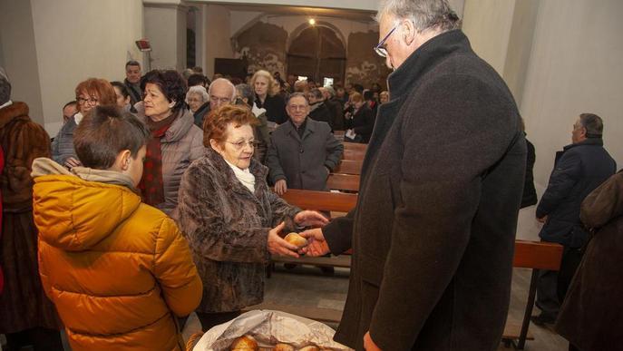 Sant Sebastià reviu una festa centenària al Pont i la Seu