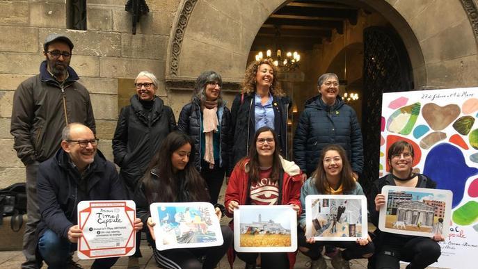 Alumnes de la Leandre Cristòfol mostren les seues animacions per tot Lleida