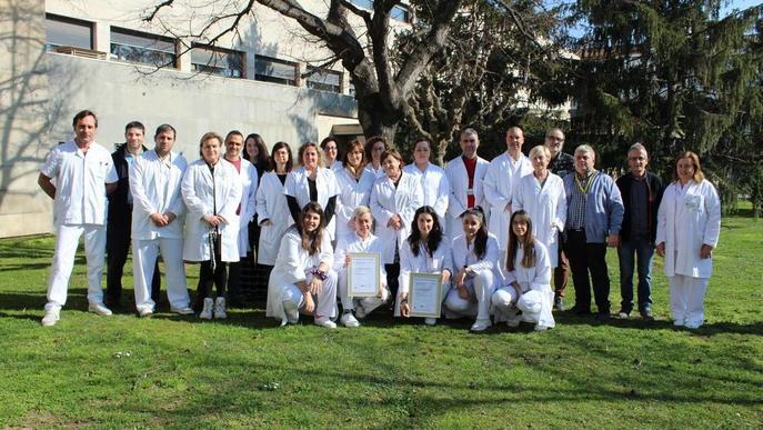 Aval al servei de farmàcia del Santa Maria i el Pallars