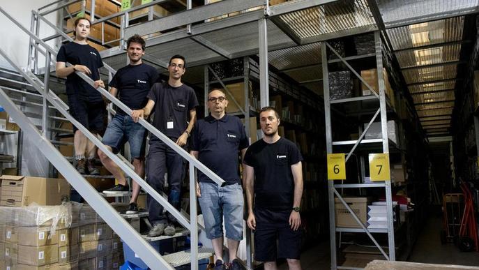 Aspros recicla més de 316 tones de documents