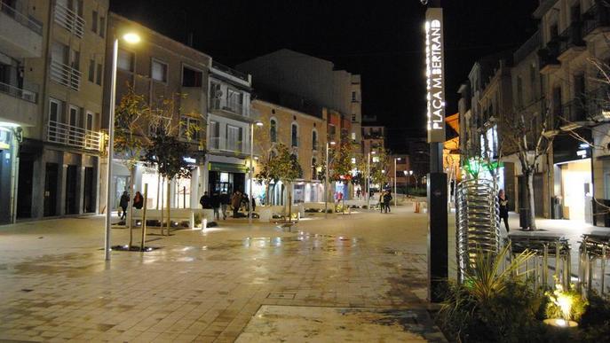 La factura de la llum al centre de Mollerussa cau un 90% després de reformar l'enllumenat