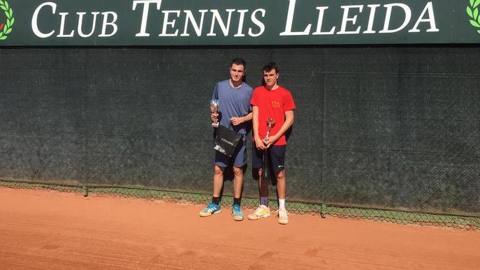 Andrea Palazón i Dani Sancho, campions al CT Lleida