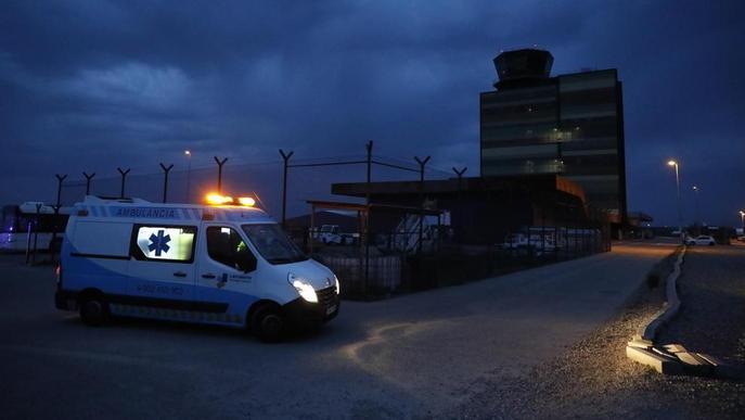 Arriba a Lleida el muntanyenc ferit a l'allau en la qual van morir tres lleidatans a Geòrgia