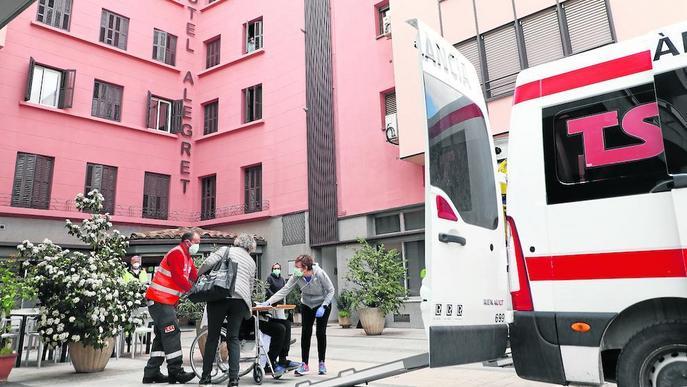 Tremp obre el primer hotel hospital de Lleida amb vuit pacients