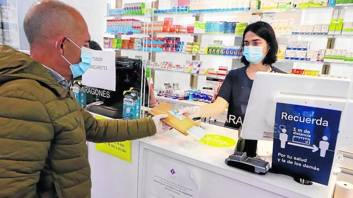 Les mascaretes gratis, esgotades a la majoria de les farmàcies