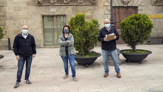 El ple de la moció de censura de Cervera, en mans de l'actual alcalde