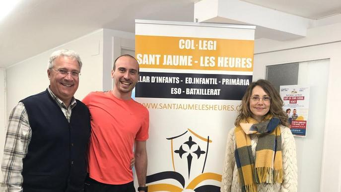 Sant Jaume-Les Heures s'uneix al projecte de base Voleibolitza't