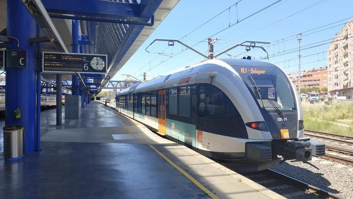 Aixequen restriccions al tren de la Pobla i en línies d'autocars