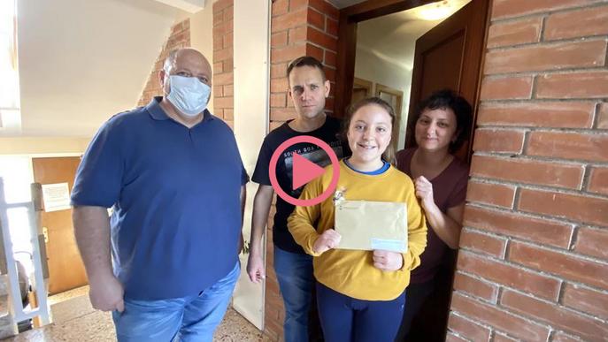 ⏯️ Guissona entrega premis escolars a domicili