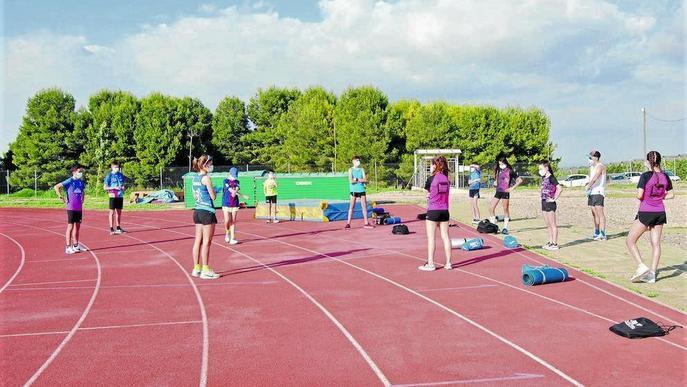 Atletes Xafatolls pistes atletisme Basses