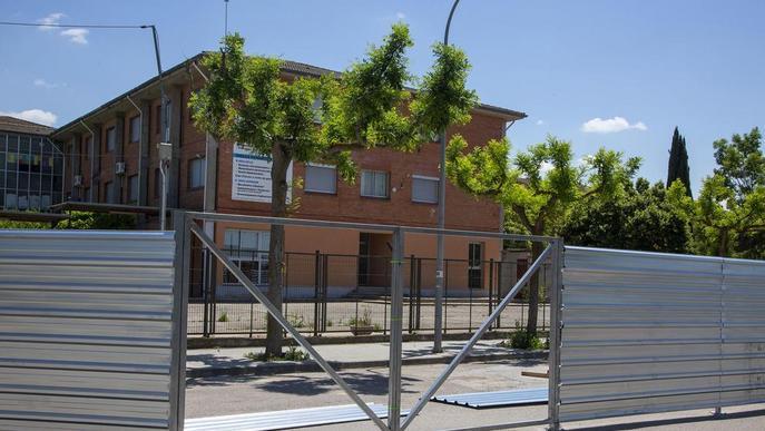 En marxa l'ampliació de l'institut Alfons Costafreda