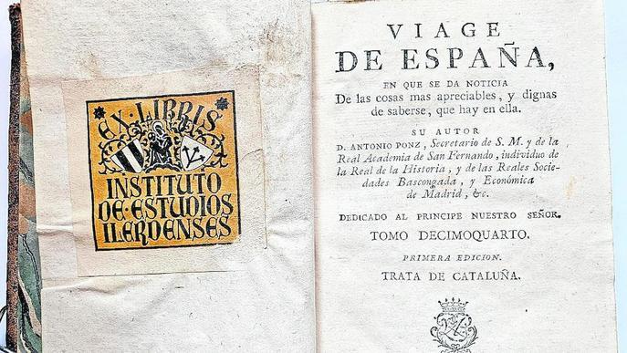 L'IEI recupera un volum del segle XVIII que s'havia extraviat fa anys