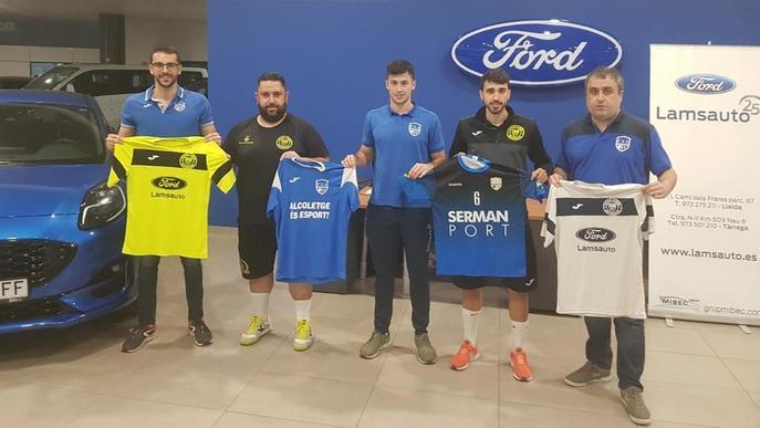Futsal Lleida i Club Futbol Sala Alcoletge escenifiquen la fusió