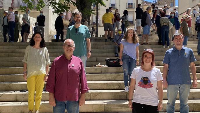 Primer govern paritari a Cervera amb ERC i CUP en minoria al capdavant de l'ajuntament