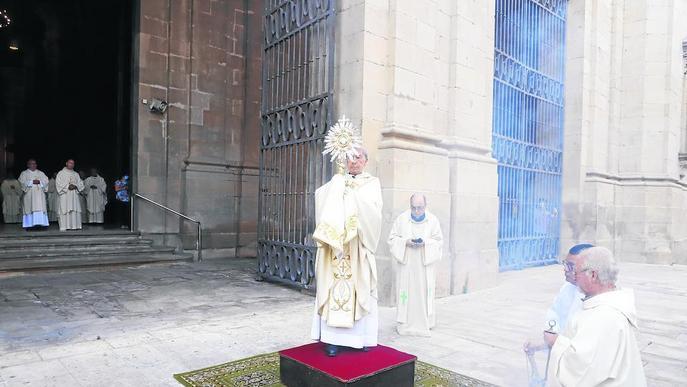 Festa del Corpus en confinament