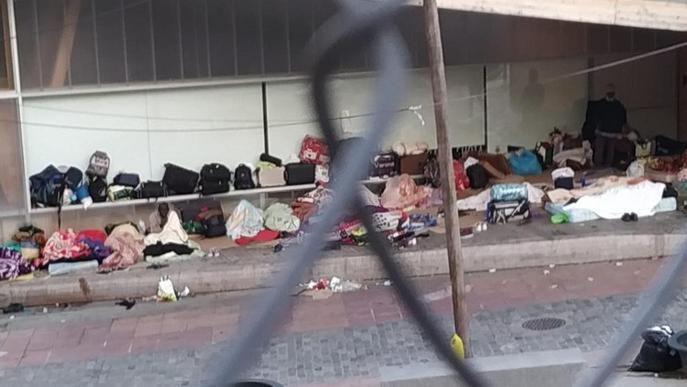 Més de la meitat dels migrants atesos per la Paeria, sense papers