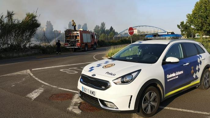 Diversos incendis calcinen més de deu hectàrees a Ponent