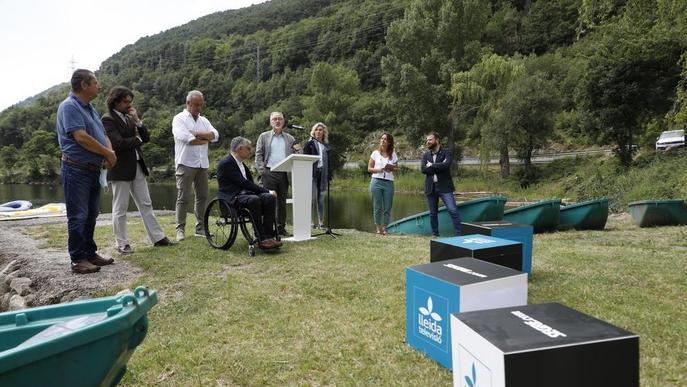 Campanya per mostrar el patrimoni turístic de Lleida a través dels rius